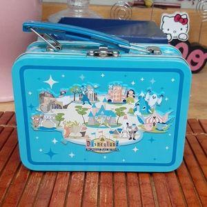 Cute Disneyland tin box